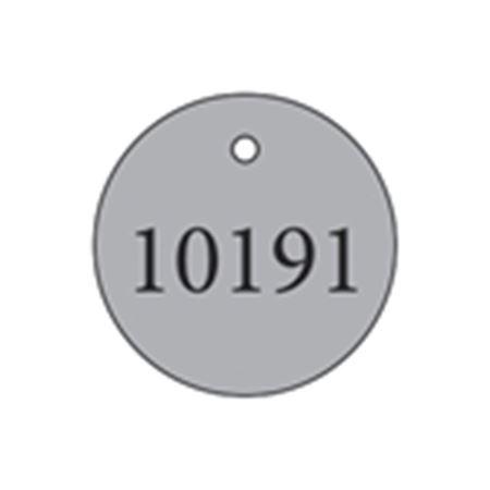 """Metal Tags - Blank 2"""" Diameter"""