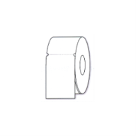 White Thermal Transfer Tag - White Matte Cardstock-1310 Cards per Roll 3 x 4