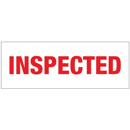 Stock Shipping Tape - INSPECTED 2x110