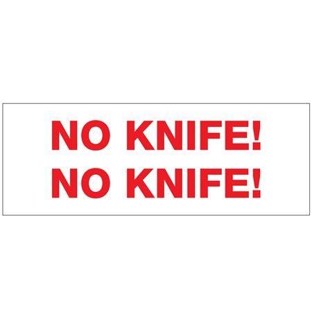 "Stock Shipping Tape - No Knife! No Knife! 2"" x 110 yds"