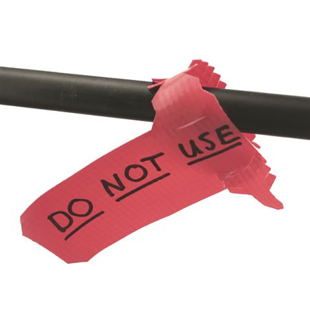 Color Coded Vinyl Write on Marking Tags-PK/100