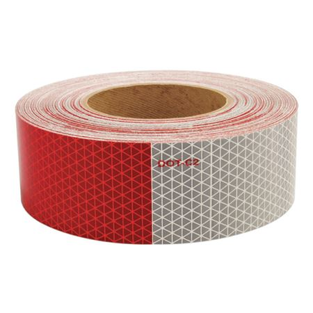 Conspicuity Tape - Red / White Tape Roll 150'