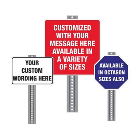 Custom Printed Heavy Duty Traffic & Parking Signs
