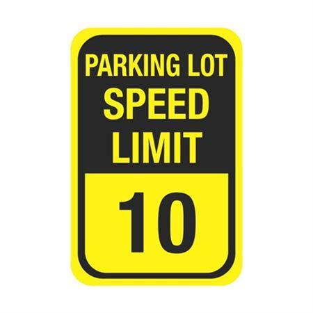 Parking Lot Speed Limit Sign 12 x 18