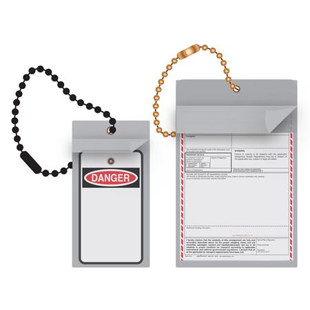 """Vinyl Tag Protectors Fits tags up to 9"""" x 11"""""""