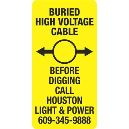 Buried High Voltage Cable - 6 x 12