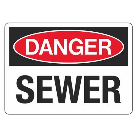 "Danger Sewer - 10"" x 14"""