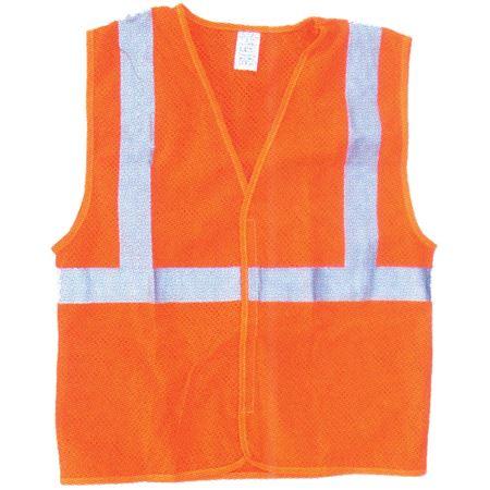 ANSI Class 2 Standard Mesh Vest - Fluorescent Orange