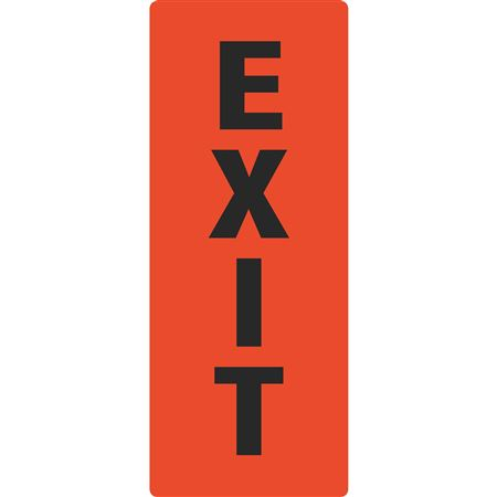 Portable Sign System - Exit 12 x 30