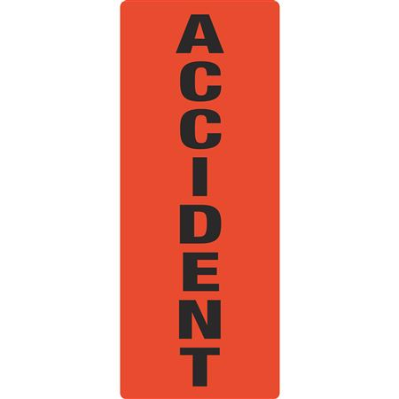 Portable Sign System - Accident 12 x 30
