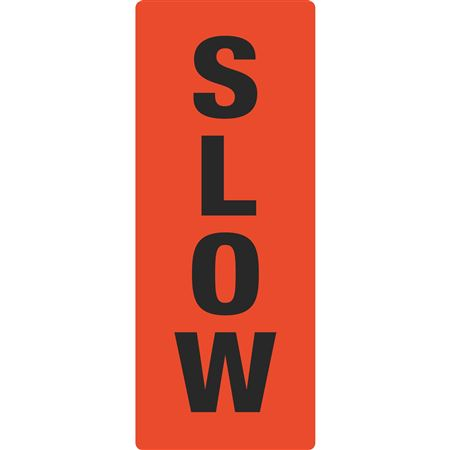 Portable Sign System - Slow 12 x 30