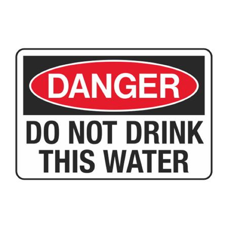 Do Not Drink This Water Decal