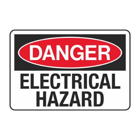 Electrical Hazard Decal