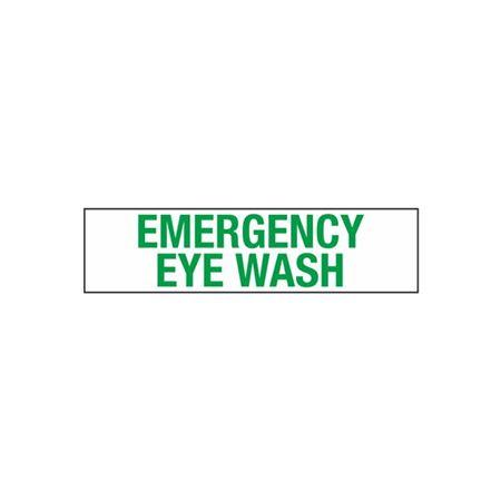 Emergency Eye Wash - 2 in. x 8 in.