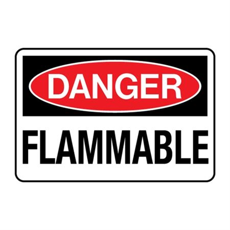 Danger Flammable Decal