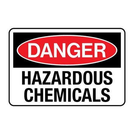 Hazardous Chemicals Decal