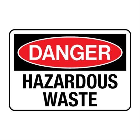 Hazardous Waste Decal