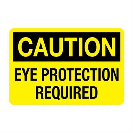 Eye Protection Required Decal