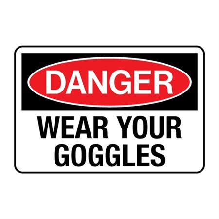 Wear Your Goggles Decal