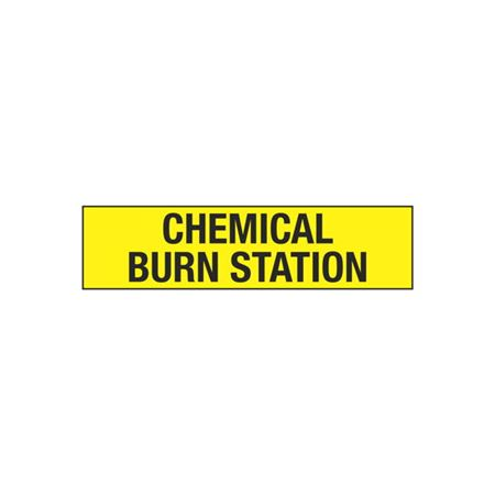 Chemical Burn Station - 2 x 8