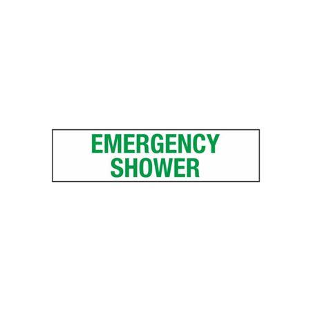Emergency Shower - 2 in. x 8 in.