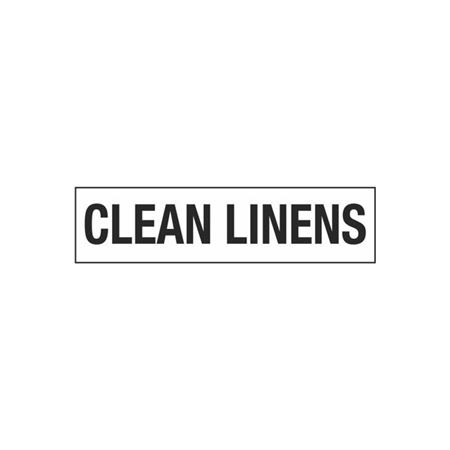 Clean Linens - 2 in. x 8 in.
