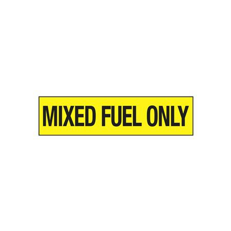 Mixed Fuel Only - 2 in. x 8 in.