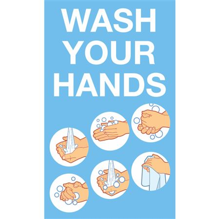 Wash Your Hands - Graphic Decal