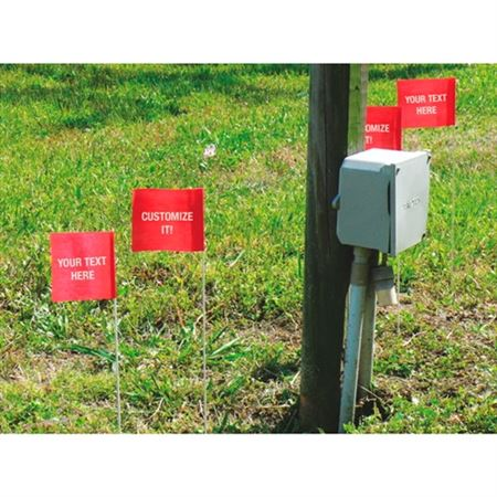 Custom Printed Biodegradable Flags 4 x 5