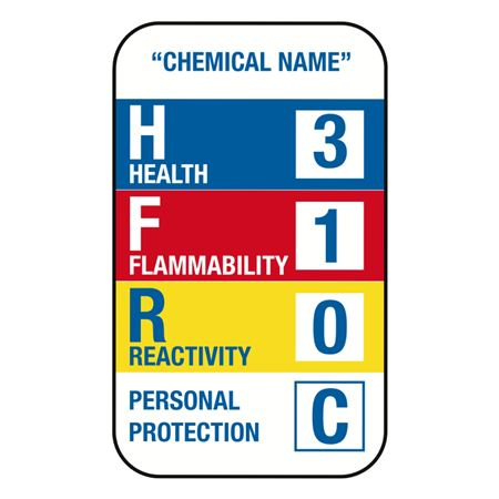 Pre-Printed Right to Know Labels