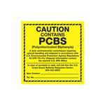PCB Labels - Caution Contains PCBs
