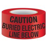 Underground Warning Tape-Detectable-Buried Electric Line
