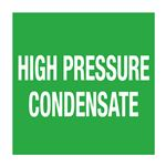 """Pipe Markers-6""""x 30' Roll-HIGH PRESSURE CONDENSATE"""