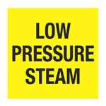 Pipe Markers - 6 inch x 30 feet Roll - LOW PRESSURE STEAM
