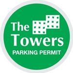 Unnumbered Custom Parking Permits - Circle 3 x 3