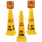 Safety Cone Kits - 3 Cone System 10.25 x 25