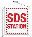 3D SDS Station Wall Sign 8x14