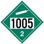 Non-Flammable Gas 1005 - Polyblend (No Adhesive) 10 3/4 x 10 3/4