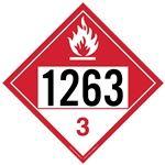 Combustible Liquid 1263 - Polyblend (No Adhesive) 10 3/4 x 10 3/4