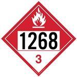 Combustible Liquid 1268 - Polyblend (No Adhesive) 10 3/4 x 10 3/4