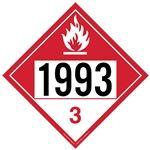 Combustible Liquid 1993 - Polyblend (No Adhesive) 10 3/4 x 10 3/4