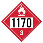 Flammable Liquid 1170 - Polyblend (No Adhesive) 10 3/4 X 10 3/4