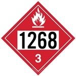 Flammable Liquid 1268 - Polyblend (No Adhesive) 10 3/4 x 10 3/4