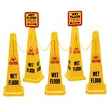 Safety Cone Kits - 5 Cone System 10.25 x 25