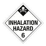 Class 6 - Inhalation Hazard Worded Placard