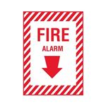 Fire Alarm - Vinyl Decal 10 x 14