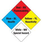 NFPA Diamond Magnetic Vinyl 5 1/2 Inches