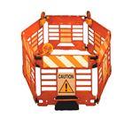 Addguards Safety Fence - 4 Panel Set in Orange