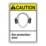 ANSI Ear Protection Sign