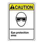 ANSI Eye Protection Area